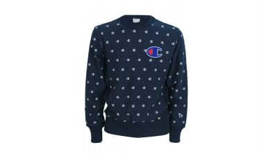 Champion Multi C Logo Sweat Navy