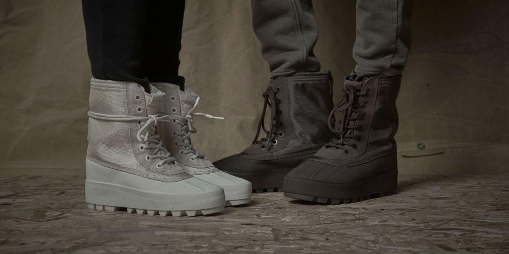yeezy 950m boot on feet