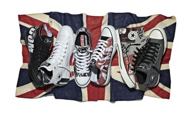 Chuck Taylor All Star Sex Pistols collection