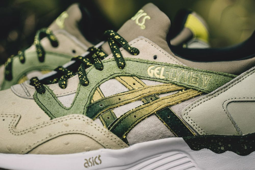 asics gel lyte v x feature prickly pear