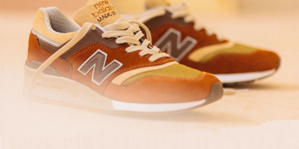 "J Crew x New Balance 997 ""Butterscotch"""