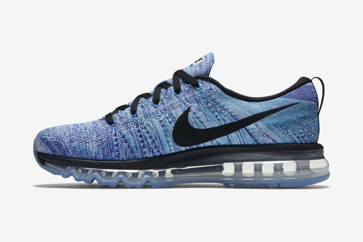 online store cb98a 47d55 Nike Flyknit Air Max White/Chlorine Blue (Available Now ...