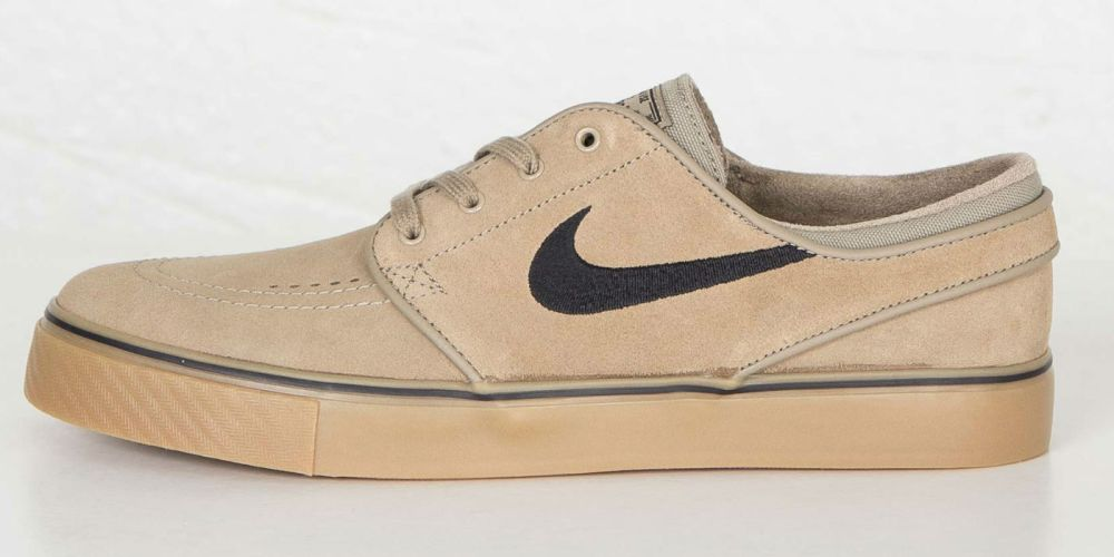 new product 58f4b 5764a Nike SB Stefan Janoski Khaki Black Gum Light Brown