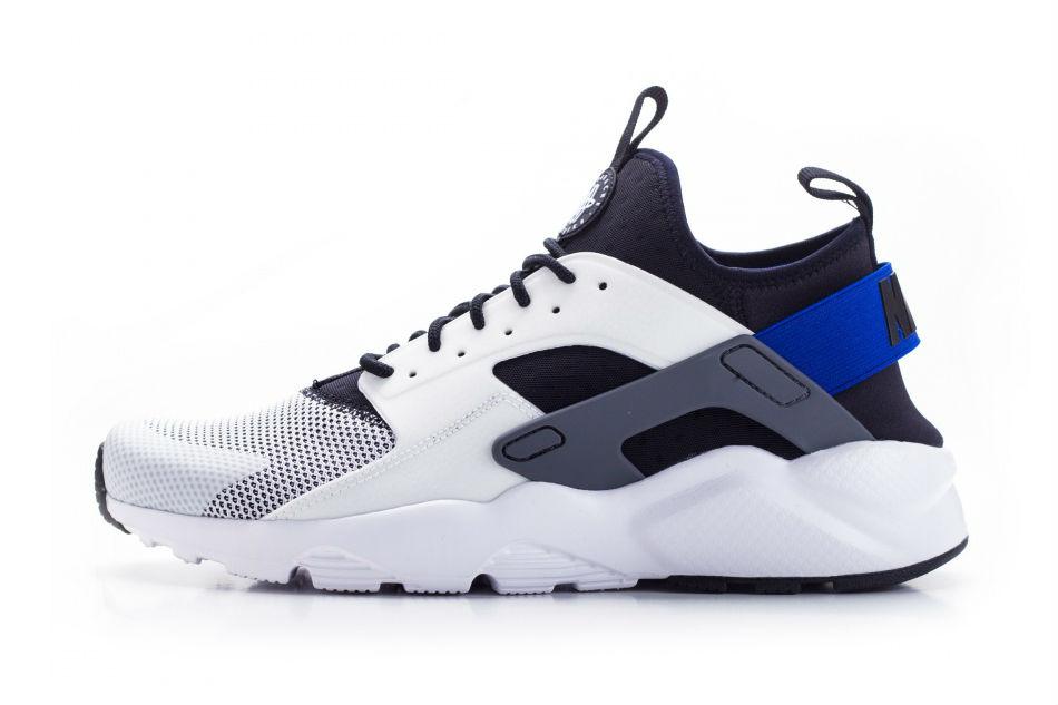 Nike air huarache run ultra white racer blue
