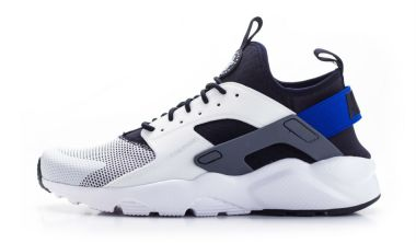Nike air huarache run ultra white racer blue