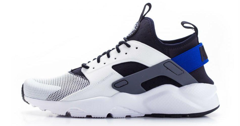 detailed look d3606 78d7c Nike air huarache run ultra white racer blue