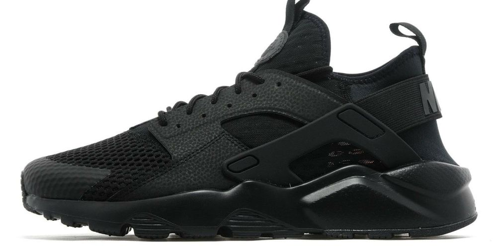 new arrival 50a2e 9ddb2 nike huarache run ultra black