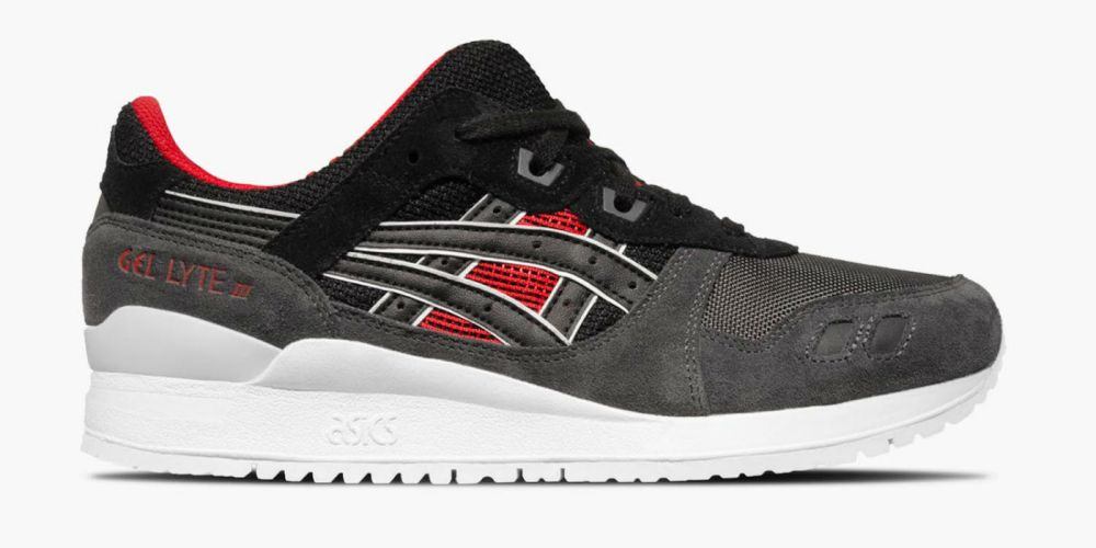 sports shoes 018c1 573da ASICS Gel Lyte III Black/Red Release Info | Cult Edge