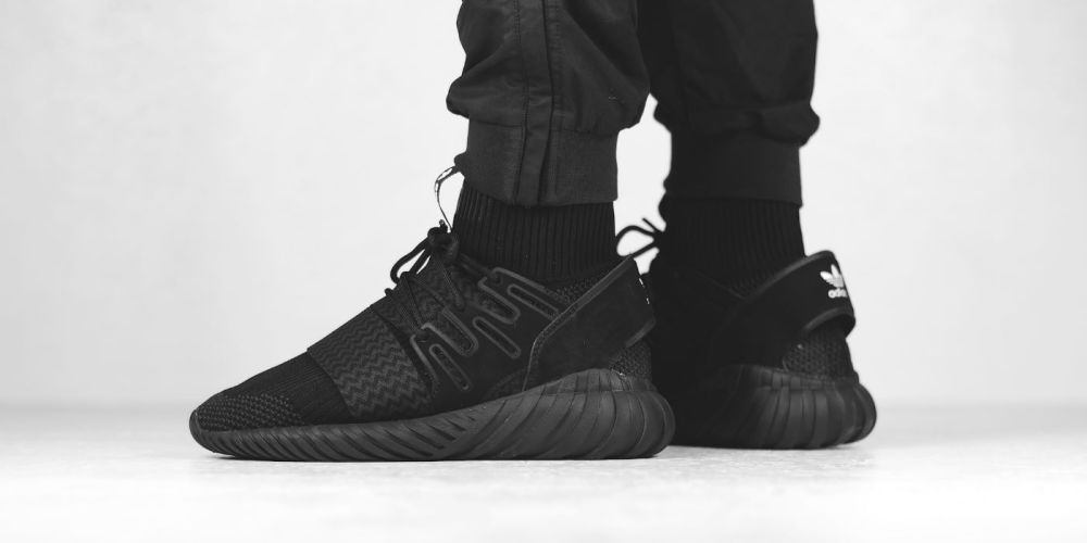 66cc8bee6495 adidas Originals Tubular Doom Primeknit Black (Available Now)