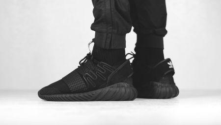 adidas Tubular Doom Primeknit now available in Triple Black