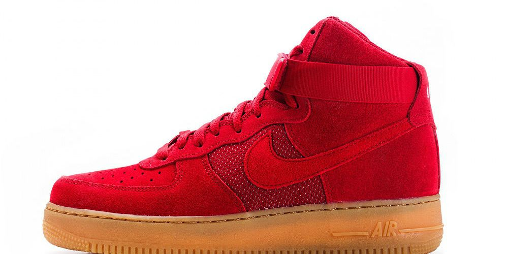 "Nike Air Force 1 High '07 LV8 ""Gym Red"""
