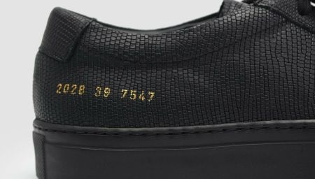 Common Projects Achilles Special Edition in Black