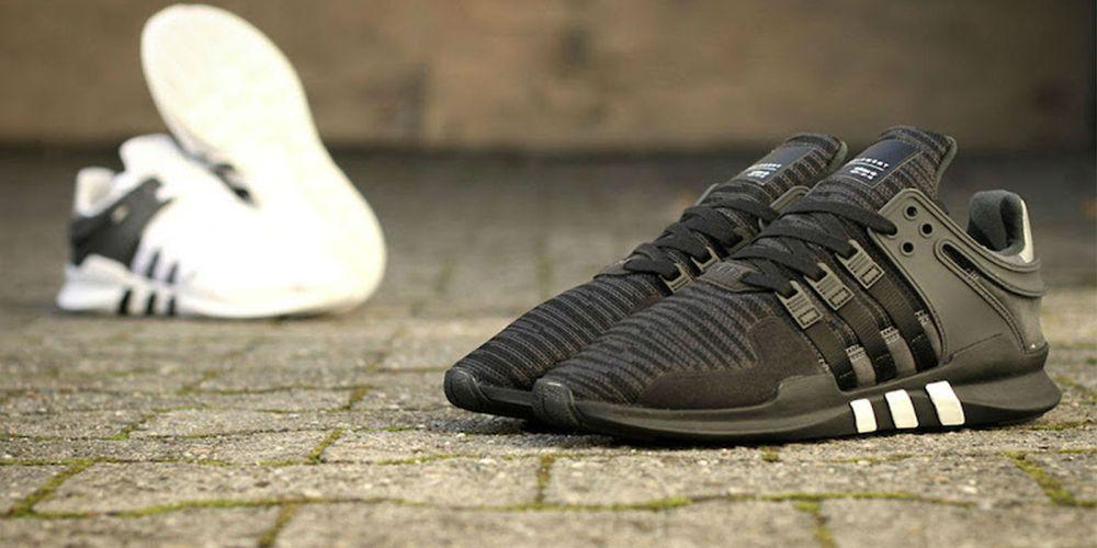 Adidas EQT Support ADV black white