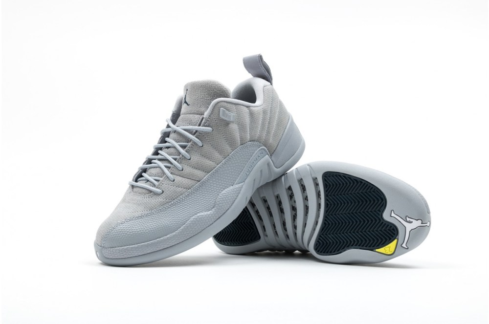 eab3e362f68a46 Air Jordan 12 Retro Low Wolf Grey Release Info