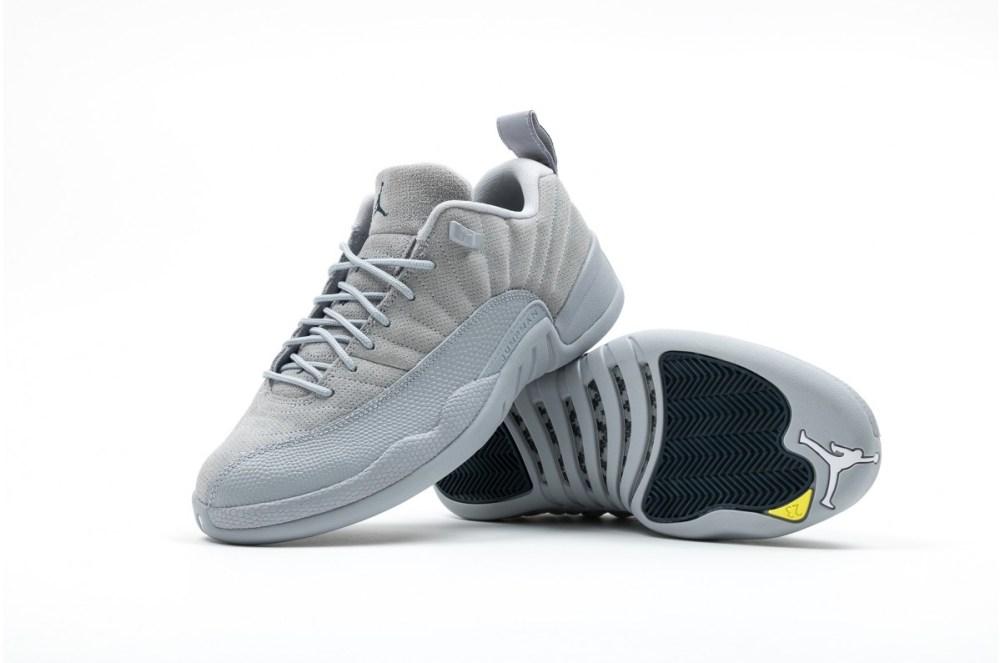 eab3e362f68a46 Air Jordan 12 Retro Low Wolf Grey Release Info