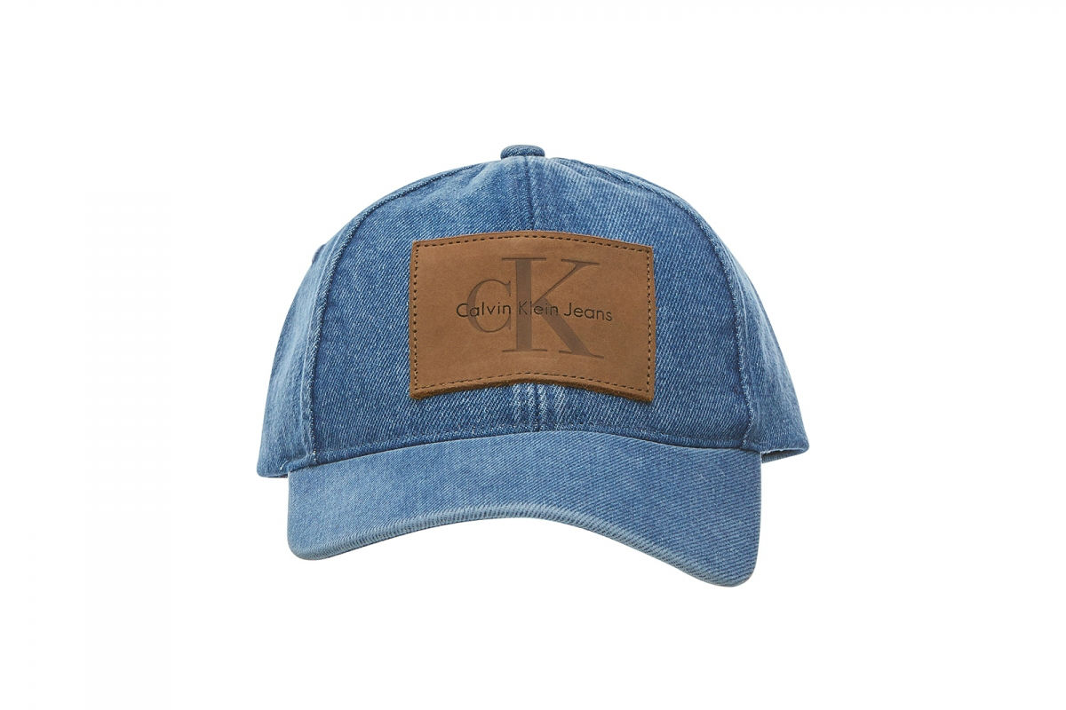 Calvin Klein Denim Logo Cap True Icon Collection Totale Eclipse