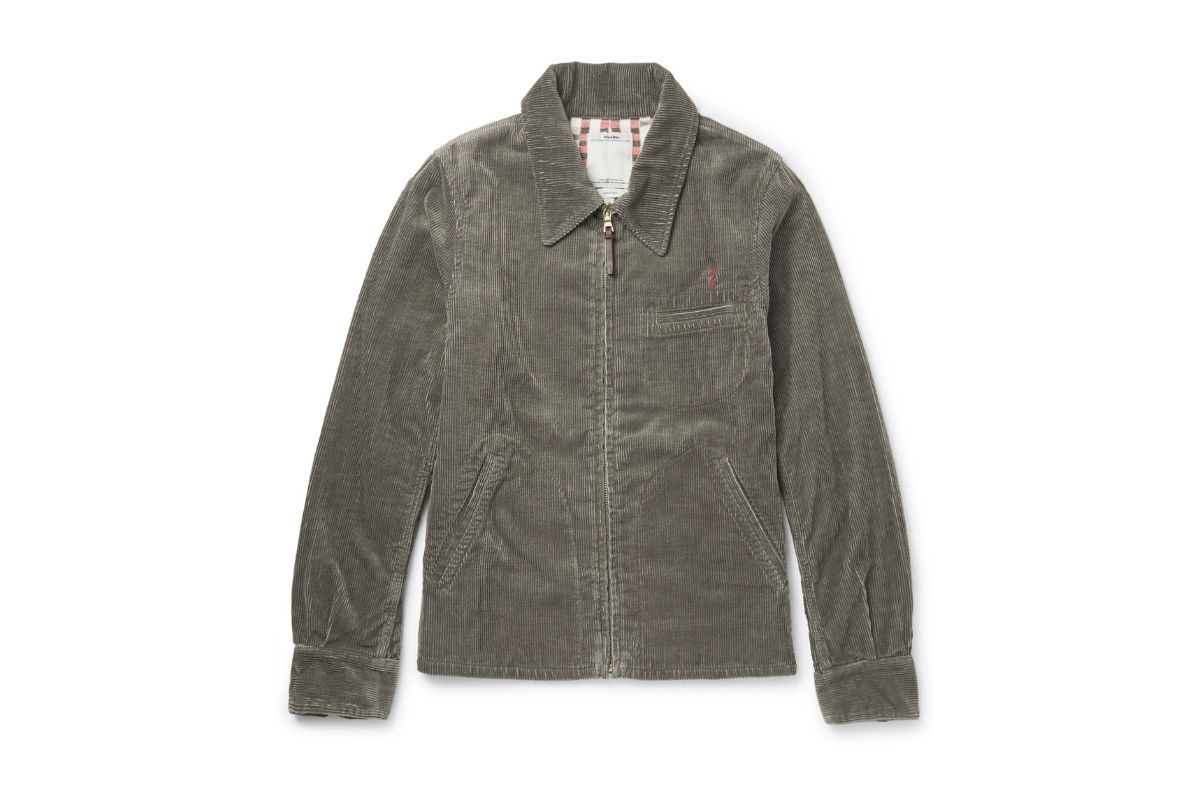 Visvim Cotton-Blend Corduroy Jacket