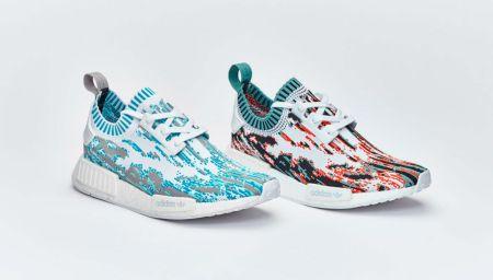 "adidas NMD R1 Primeknit ""Datamosh Pack"""