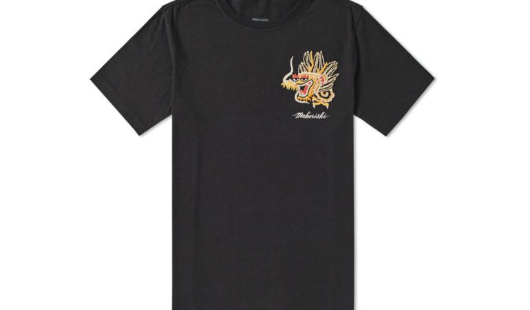 Maharishi Golden Dragon T-Shirt Black