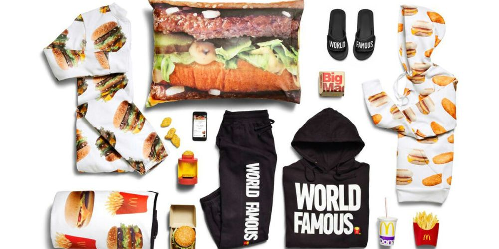 mcdonalds free merch collection