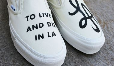 vans vault og classic slip on to live and die in la