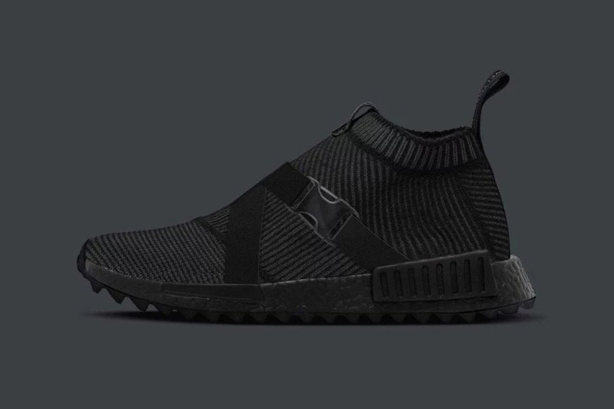 e2ffd9c3428e Triple Black With A Twist  TGWO x adidas Originals NMD CS1
