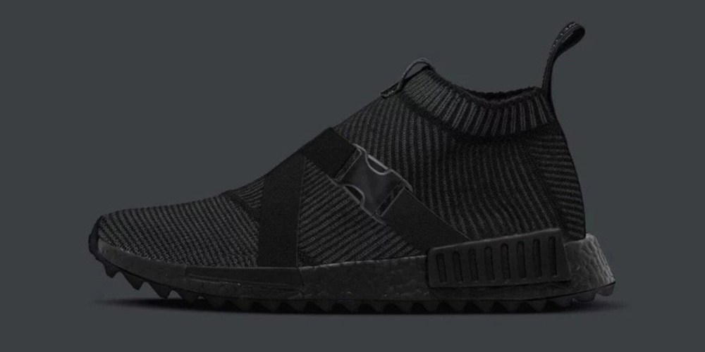 promo code 03b82 cd382 Triple Black With A Twist: TGWO x adidas Originals NMD CS1 ...