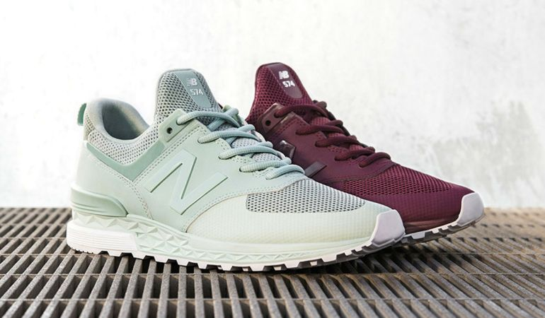 Sporty End Of Season: New Balance 574S