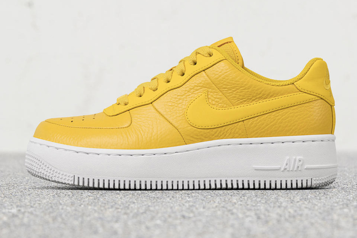 """Nike Air Force 1 Upstep Premium Low """"Bread & Butter"""" 
