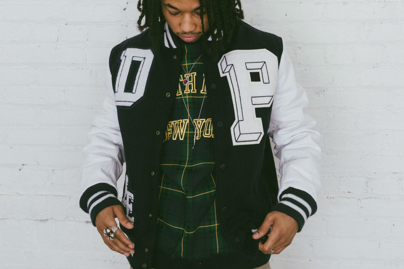 10deep x golden bear varsity jacket