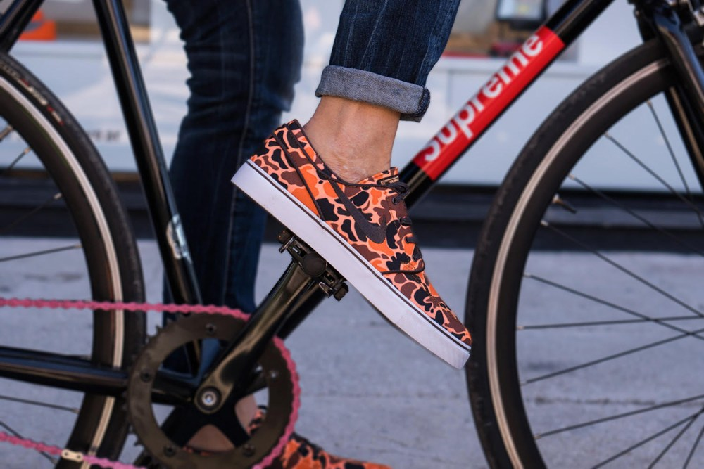 Nike SB Zoom Stefan Janoski Orange Camo