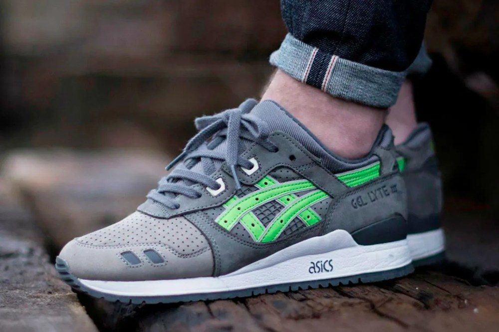 Ronnie Fieg X Asics Gel-Lyte III Super Green