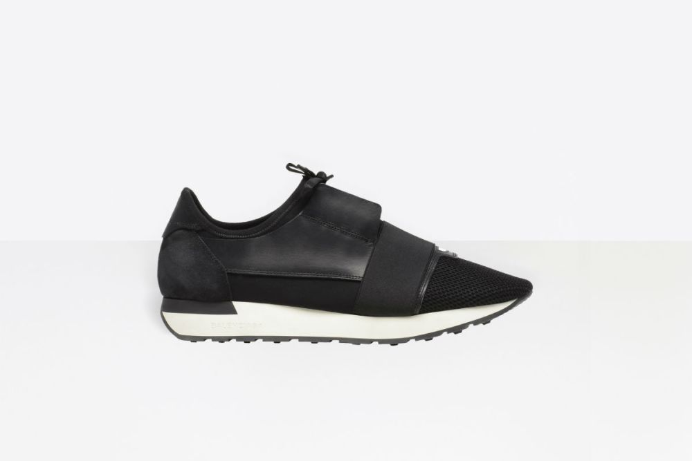 balenciaga race runners black