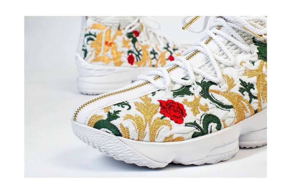 nike lebron 15 floral size