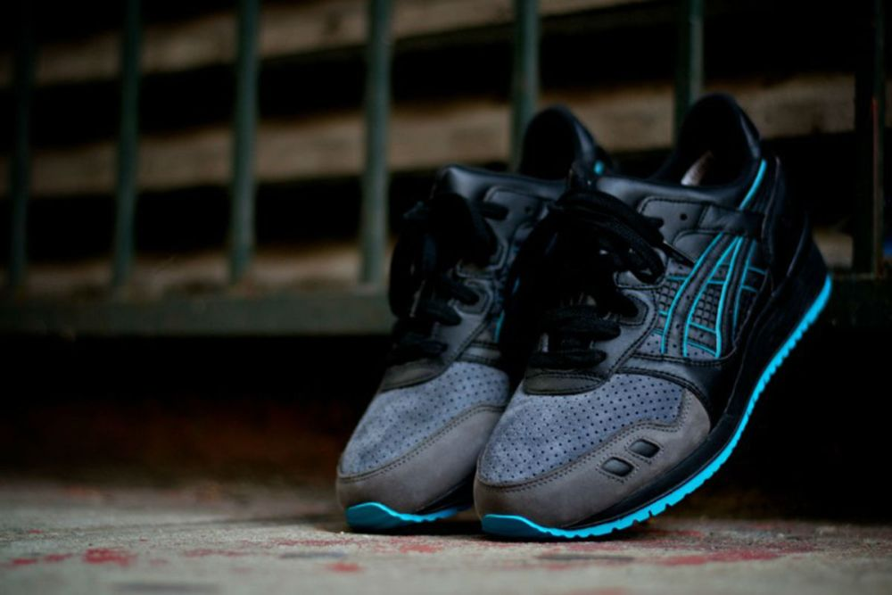 "Ronnie Fieg x Asics Gel Lyte III ""Leather Back"""