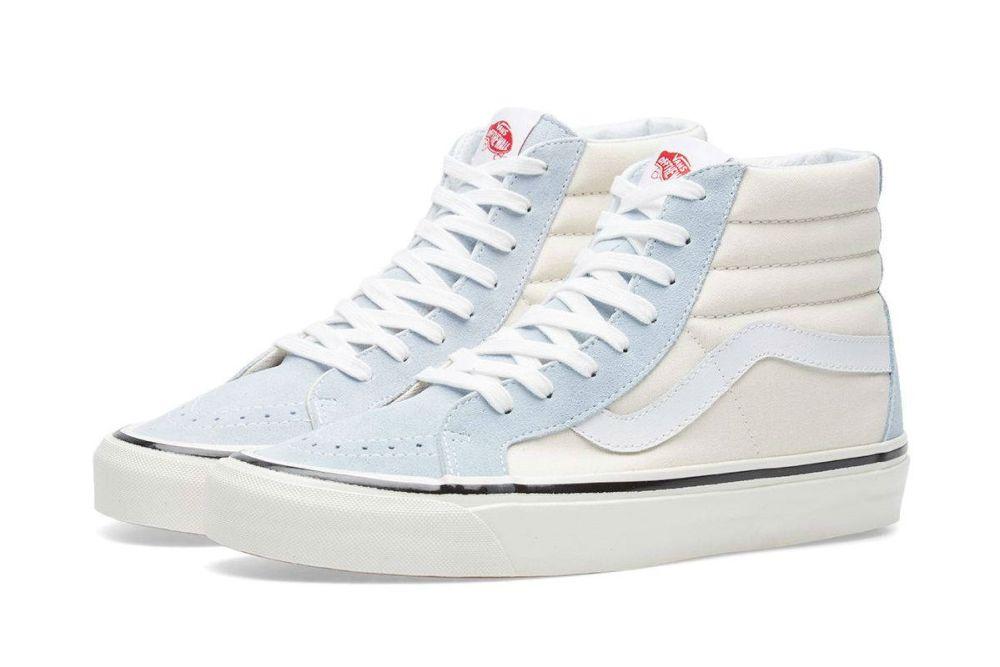 vans sk8 hi all white