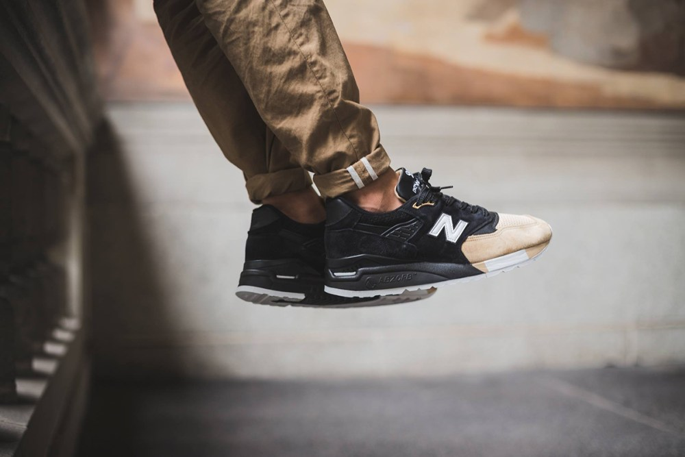"""76c6593610768 Premier x New Balance 998 """"PRMR"""". Celebrating the heartland's automotive  heritage, this silhouette pay homage to early automobiles, in particular,  ..."""