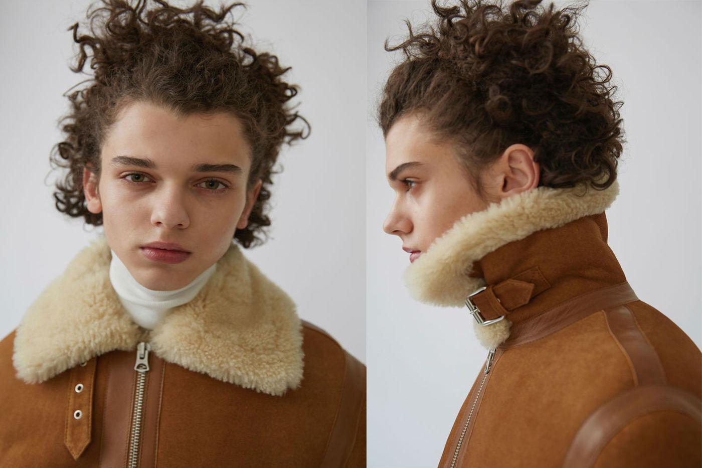 Acne Studios Ian Suede jacket