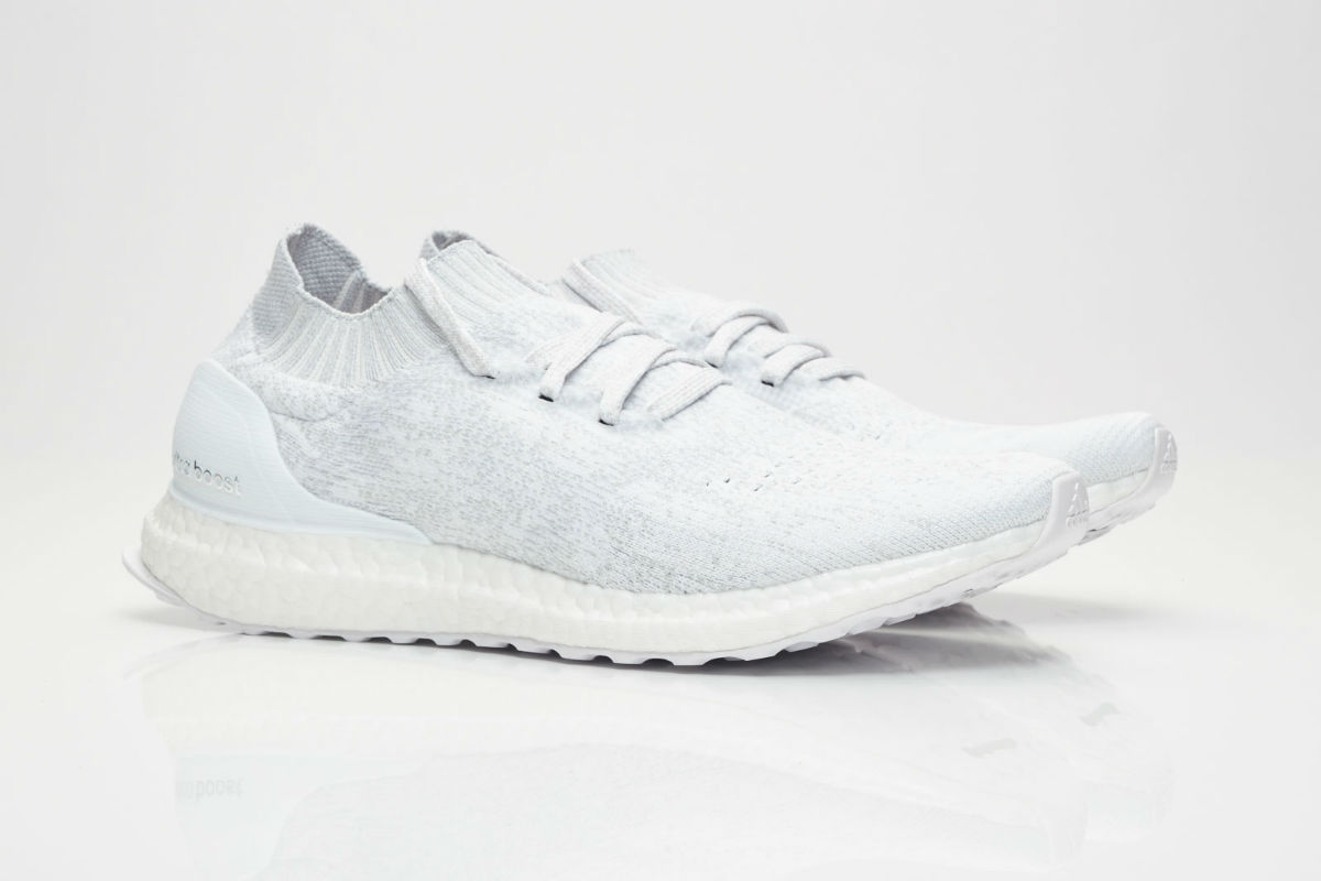 ultra boost uncaged triple white