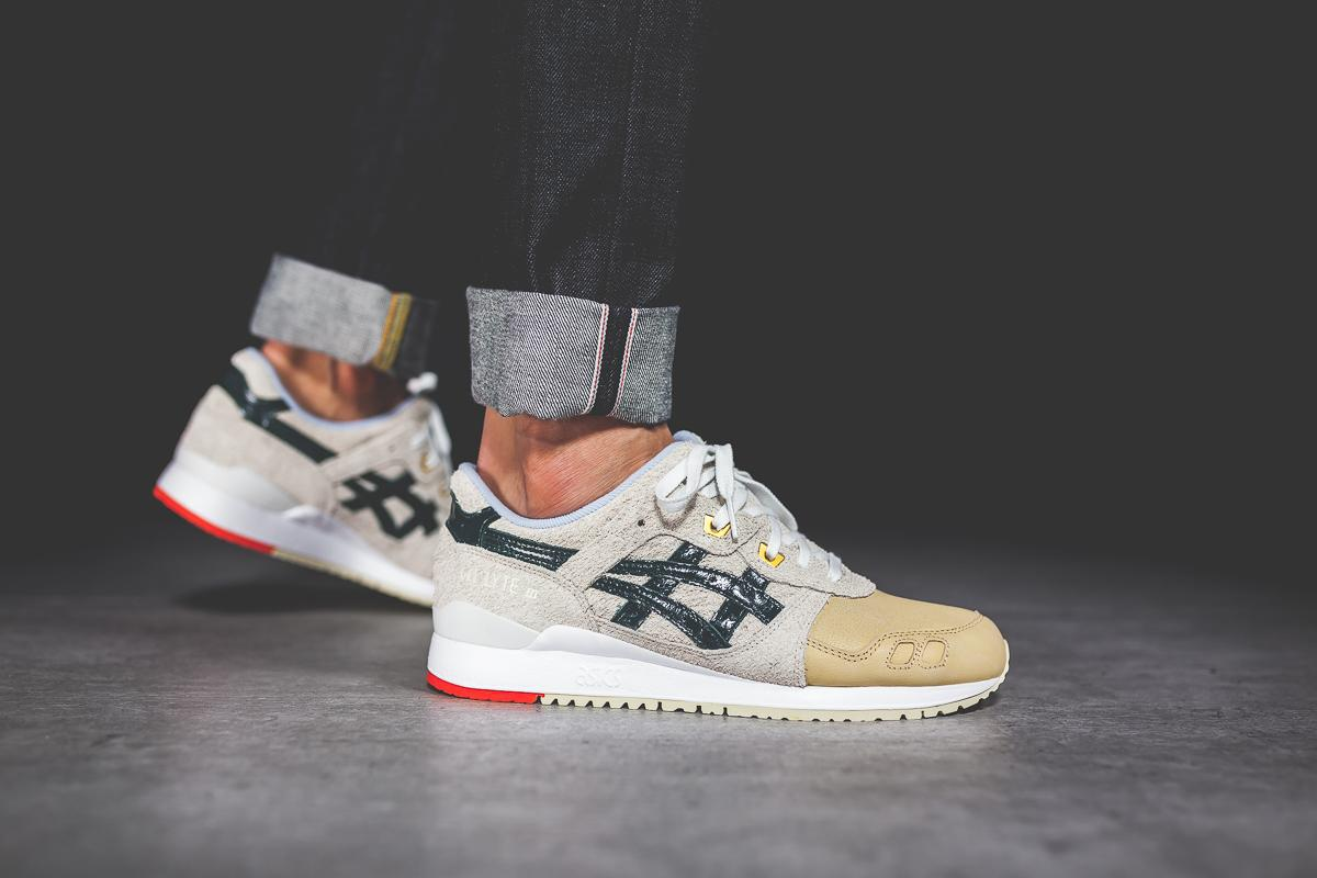 """END. x ASICS GEL Lyte III New """"Wasabi"""" Colorway On The Way"""