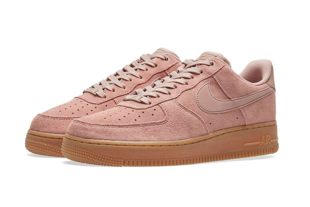 NIKE AIR FORCE 1 '07 LV8 SUEDE PINK