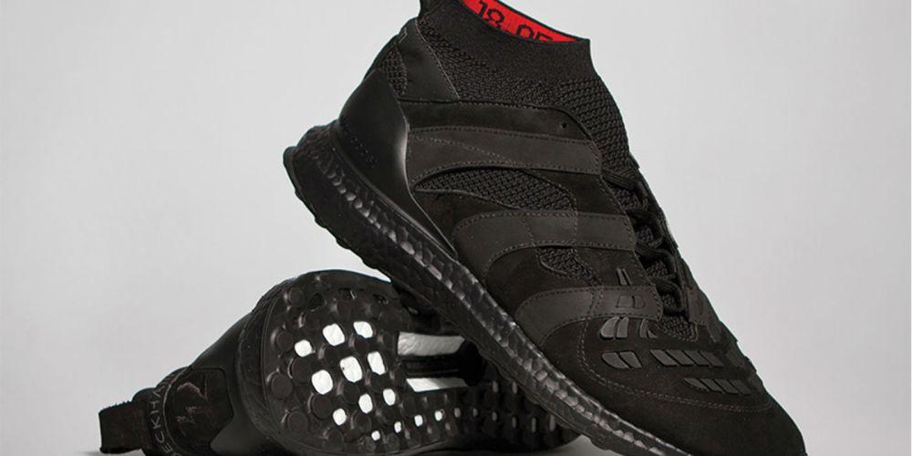 adidas DB Accelerator Ultra Boost Triple Black