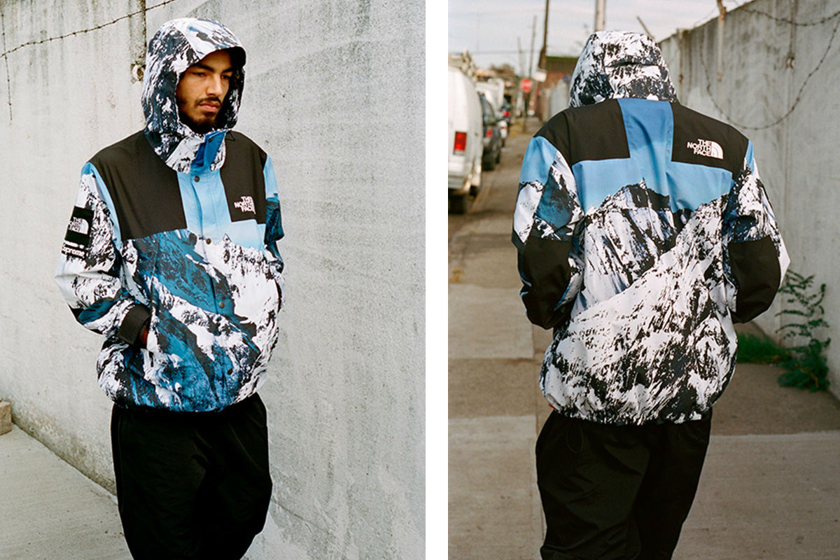 supreme x the north face fw17