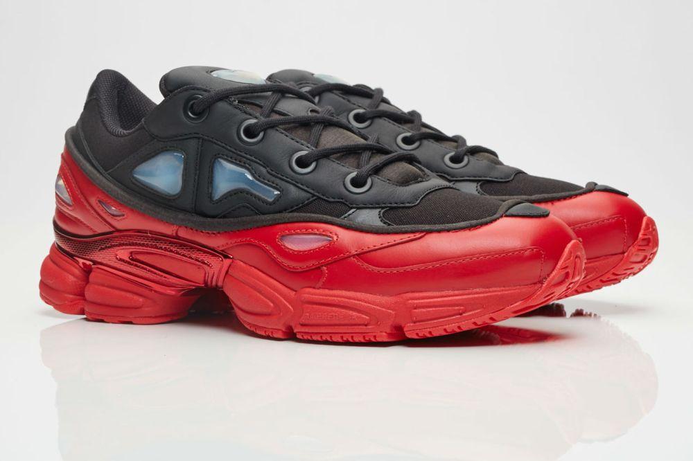 adidas x Raf Simons Ozweego III Core Black/Scarlet
