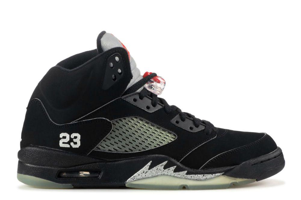 Air Jordan 5 Black Metallic
