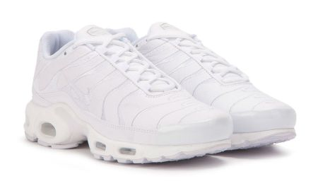 Nike Air Max Plus Goes Triple White