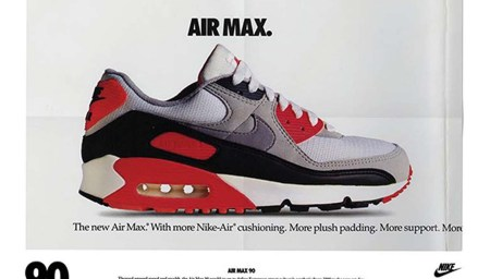Floating: The Nike Air Max 90 Carries On