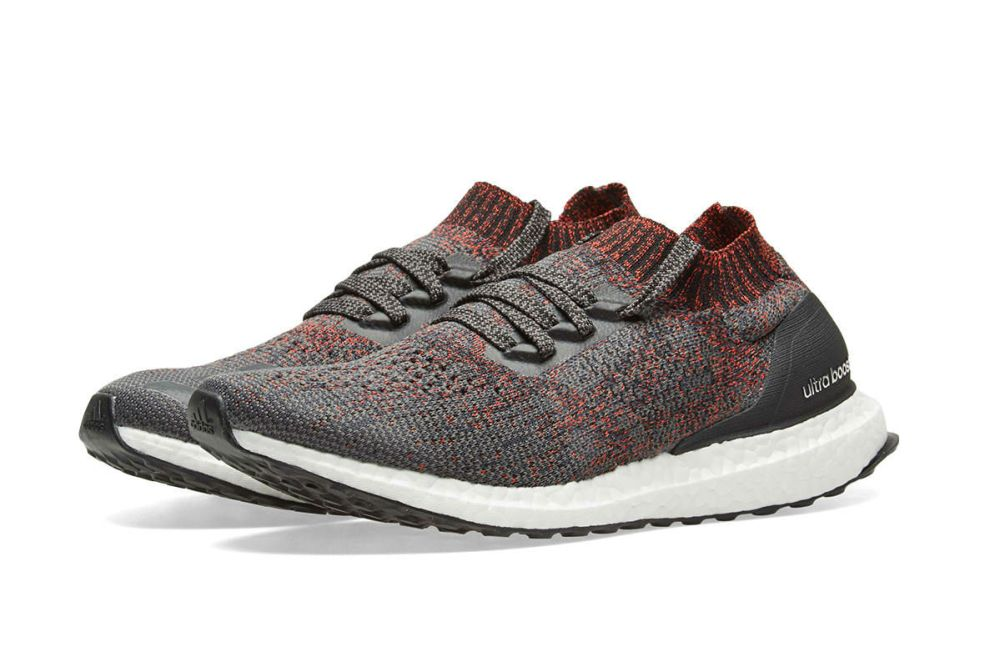 adidas ultraboost uncaged carbon black white