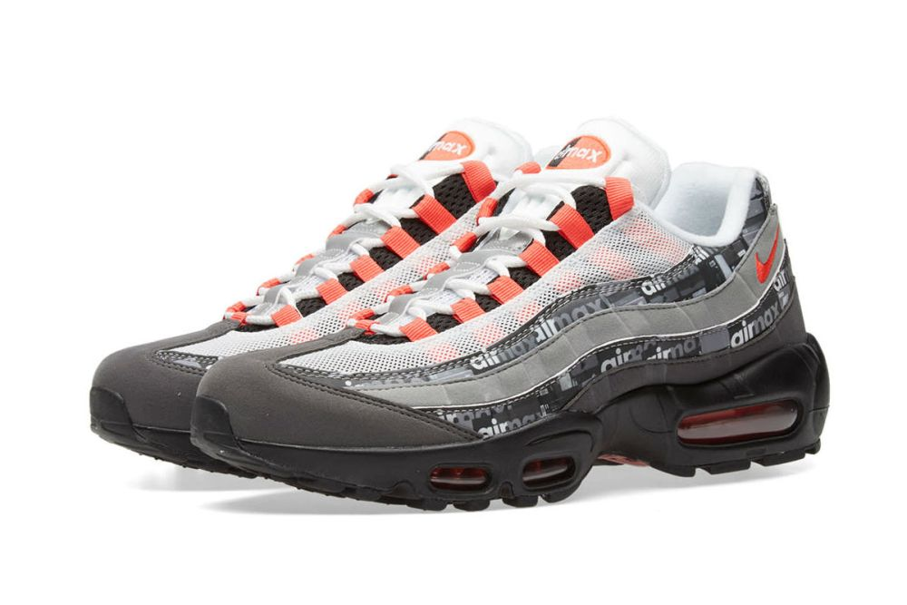 NIKE AIR MAX 95 PRINT BLACK CRIMSON