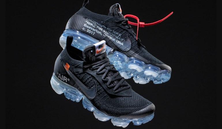 "The Ten Reissue: ""BLACK"" Nike Air Vapormax Flyknit by Virgil Abloh"